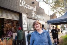 Sara Hood at Record Store Day in Melbourne on Saturday 22 April 2017. Photo by Ros O'Gorman