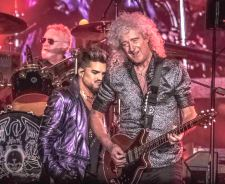 Queen + Adam Lambert Melbourne 19 Feb 20 photo by Mary Boukouvalas