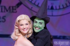 Lucy Durack in Wicked photo by Ros O'Gorman