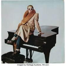 Elton John Steinway piano