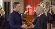 John Hamm with Larry David on Curb Your Enthusiasm 11