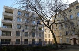 Peabody housing in London's Whitechapel