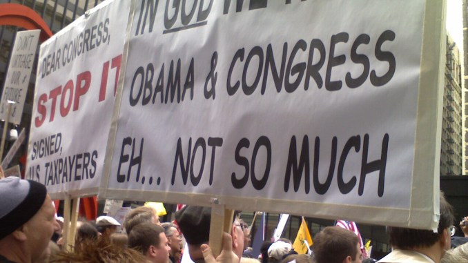 Tea Party Protesting Something
