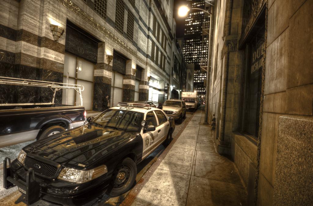SMS LAPD Patrol Car