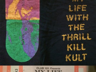 mltkk smaller my life with the thrill kill kult t-shirt and ticket
