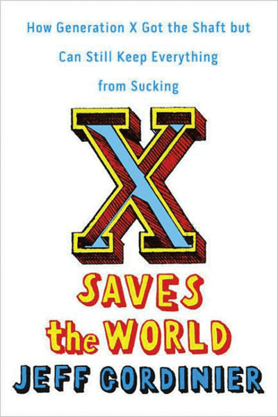 X Saves the World Book Cover