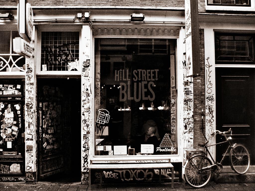 Hill Street Blues Coffee Shop Amsterdam -