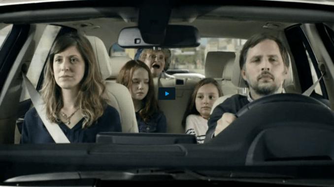 BMW Heads-up Ad Horrible Grandma