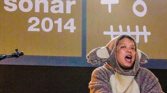 Kid Koala Performs Sonar 2014 Barcelona