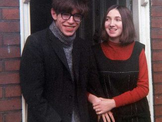 Stephen Hawking and Jane Wilde Hawking