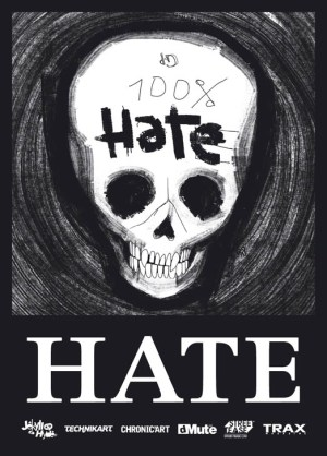 100% HATE flyer