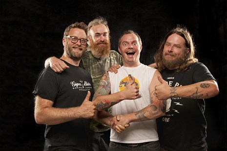"""Red Fang """"Whales and Leeches"""" press photos 2013"""
