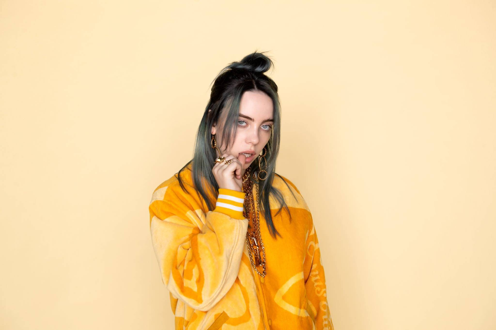 Billie Eilish confronts a world on fire in new video