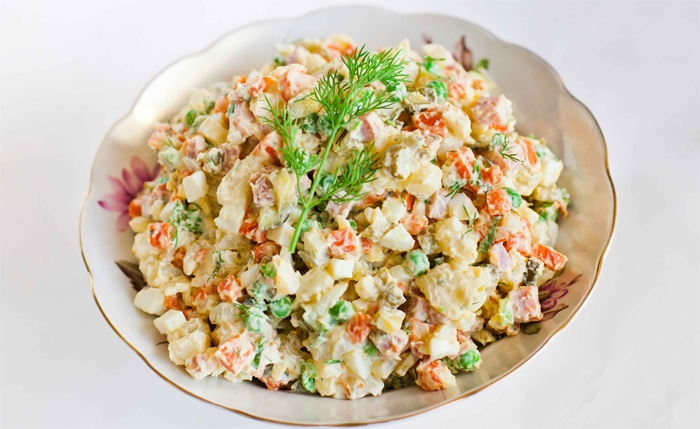 insalata russa ricetta preparazione