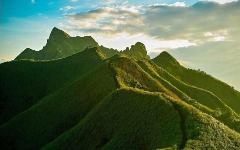Inquinamento in Cina - Montagne verdi della Cina