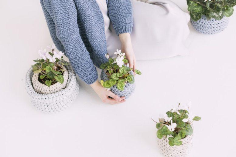 portare la natura in casa per alleviare lo stress