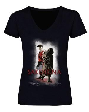 t-shirt donna Mamuthones e Issohadores