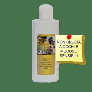 shampoo lenitivo per cani
