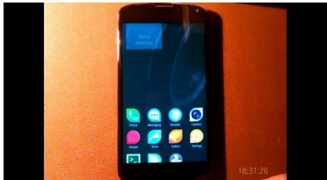 Sailfish Nexus 4