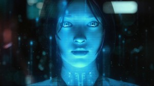 Cortana from Halo 4