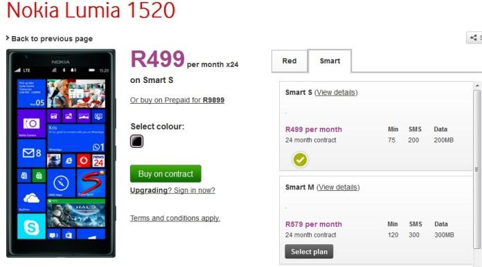 Lumia 1520 SA