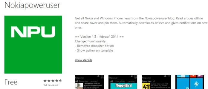 Nokiapoweruser app