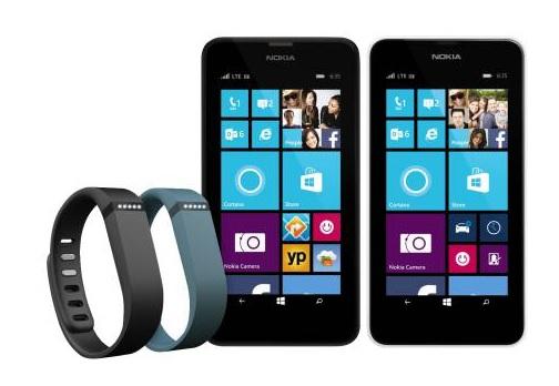 Lumia 630 fitbit