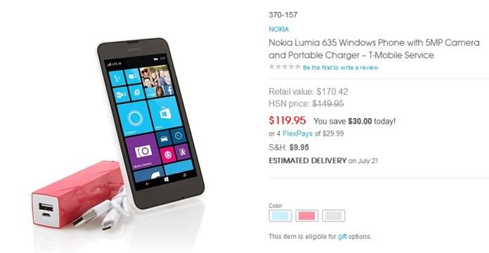 Lumia 635 HSN