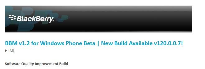 BBM Beta