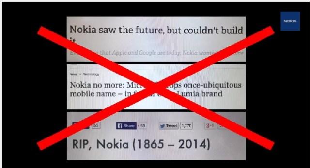 Nokia Slush 14 keynote