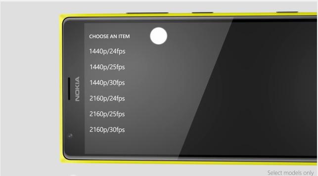 Lumia Denim 4K