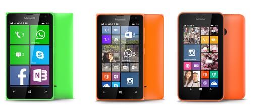 Lumia 435 vs Lumia 532 vs Lumia 530