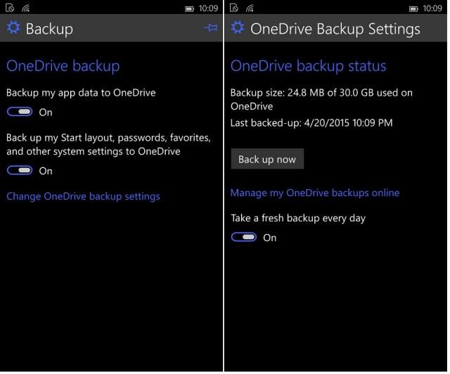 OneDrive Win 10