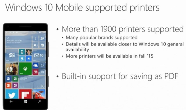 Win 10 Printer
