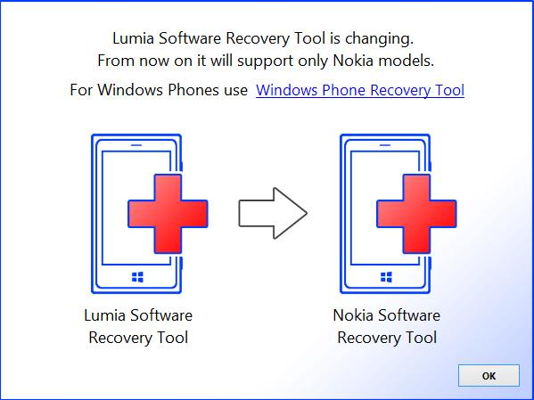 How to use lumia recovery tool