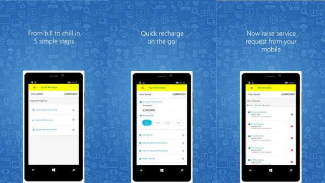 Idea-Cellular-Windows-Phone-app