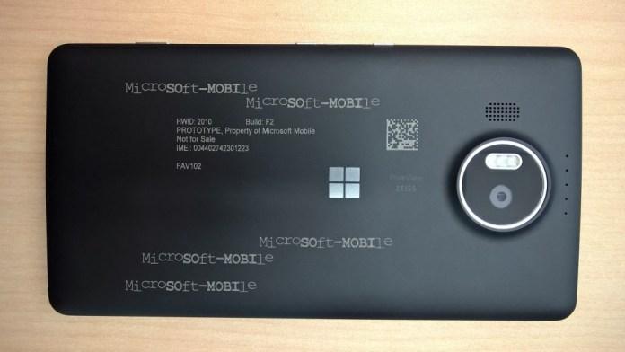 Lumia 950 XL proto 1