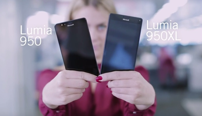 Lumia 950 vs Lumia 950 XL hands-on
