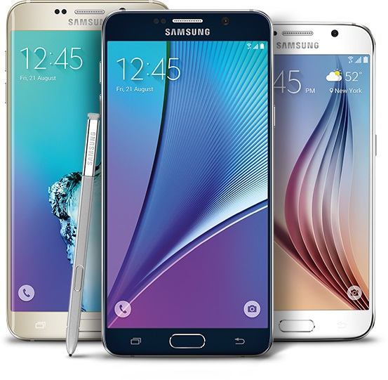 Samsung Galaxy S6-Note 5