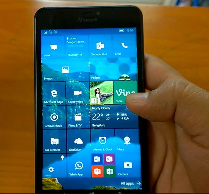 Hands-on Build 10586.11