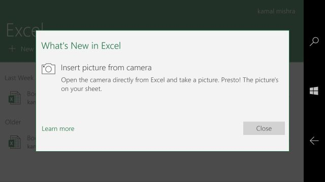Universal Excel & PowerPoint apps for Windows 10 get updated