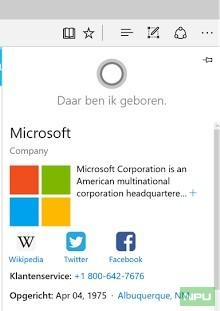 Dutch Cortana 2