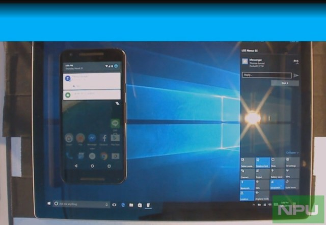 Windows 10-Android