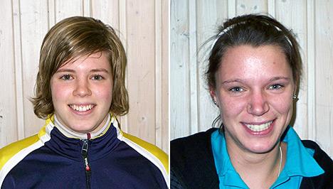 Neuzugänge Sonja Kraus und Stephanie Kreß
