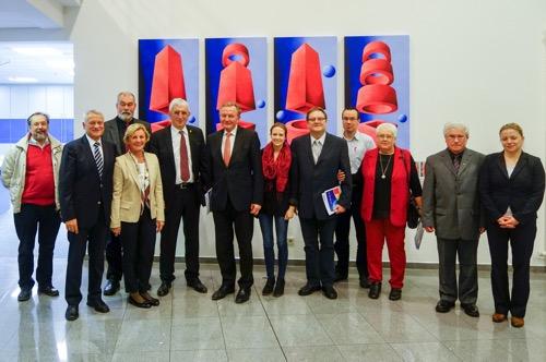 Diedesheim: Genossen besuchen Weltunternehmen