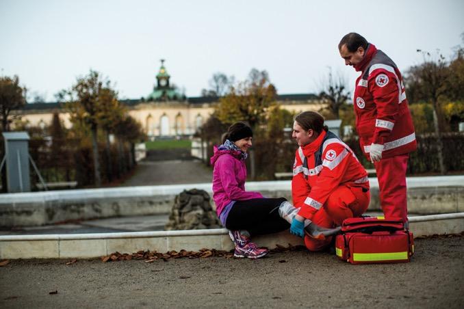 Zelck Rettungsdienst DRK Potsdam hq Q 1