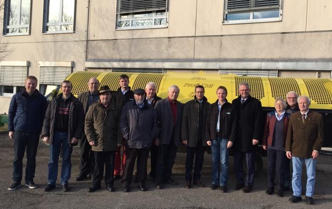 2016 02 22 CDU Ravenstein setzte Besichtigungen von Betrieben fort