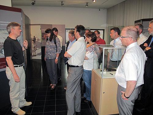 Ausschuss im Museum