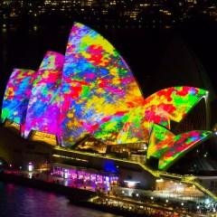 Sydney Opera House - Vivid Sydney 2014 (3J8A01198)