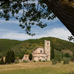 Abbey of Sant' Antimo, Tuscany (454F27922)